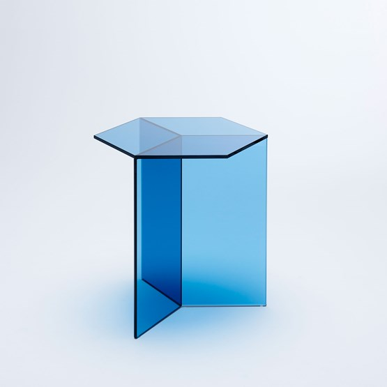 ISOM SQUARE Side Table - blue - Design : NEO/CRAFT