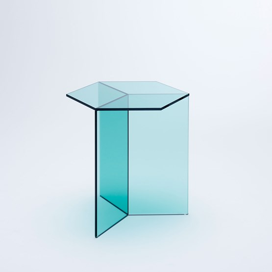ISOM SQUARE Side Table - green - Design : NEO/CRAFT
