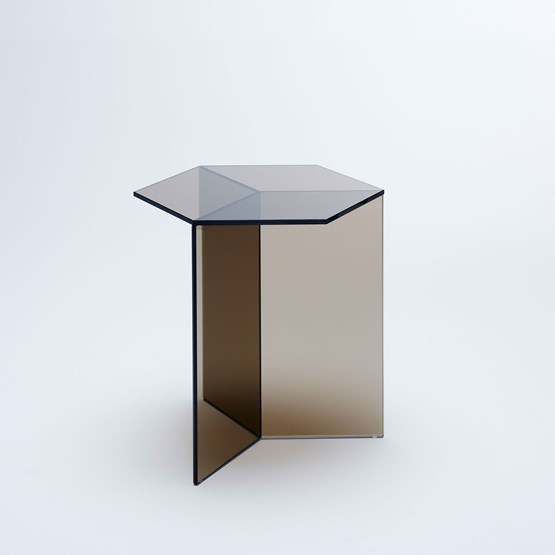 ISOM SQUARE Side Table - bronze  - Design : NEO/CRAFT