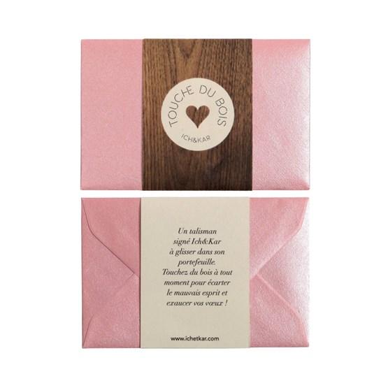 Touche du bois lucky charm - pink - Design : ICH&KAR