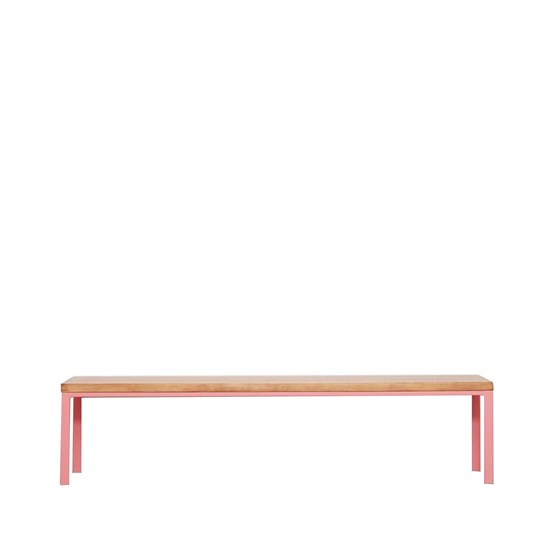 Banc SIMPELVED - rose - Design : JOHANENLIES