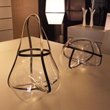 Vase FIELD bas - transparent 3