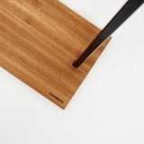 HANGON Clothes rail - oak/black 2