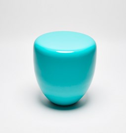 DOT side table - turquoise