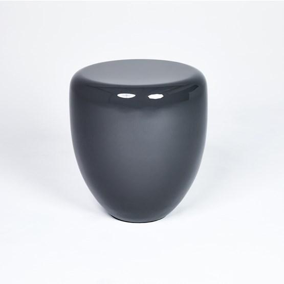 Table d'appoint DOT - gris anthracite - Design : Reda Amalou Design