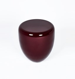 DOT side table - grenat