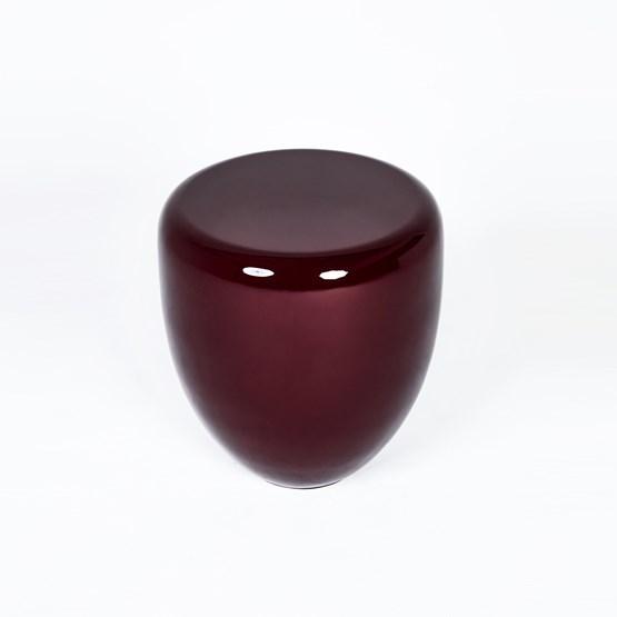 DOT side table - grenat - Design : Reda Amalou Design