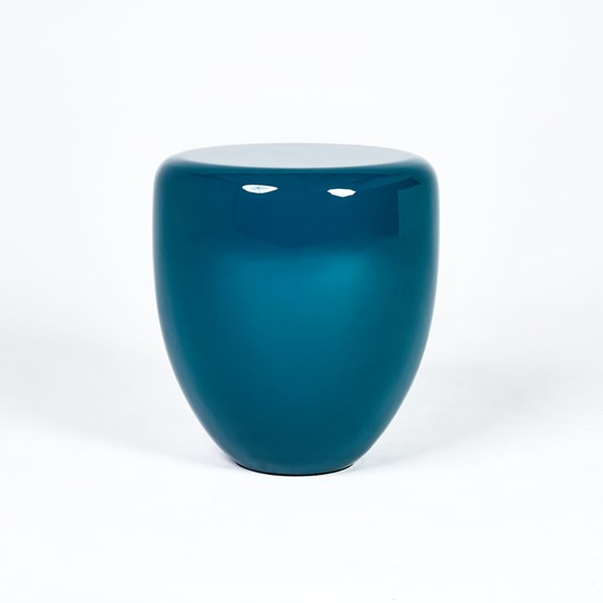 DOT side table - peacock blue - Design : Reda Amalou Design