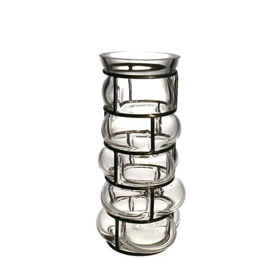 Vase BRICK - transparent - Design : Vanessa Mitrani