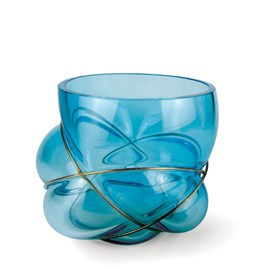 PELOTE vase - ice blue