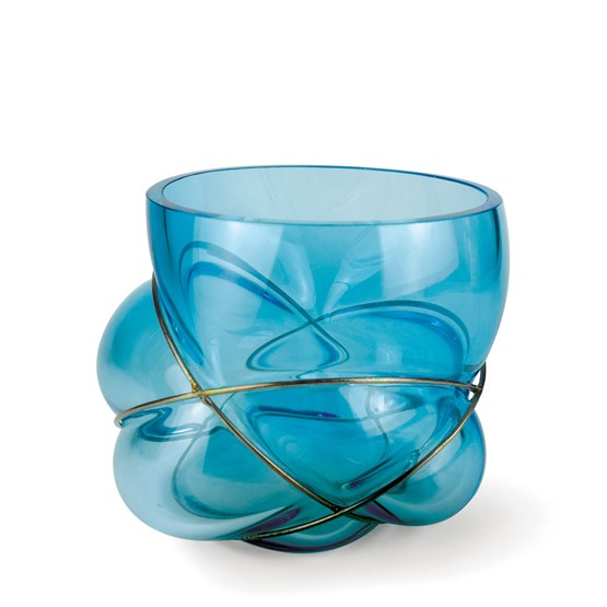 Vase PELOTE - ice blue  - Design : Vanessa Mitrani