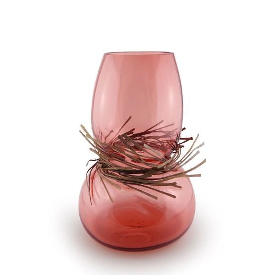 Vase CABARET - rose - Design : Vanessa Mitrani