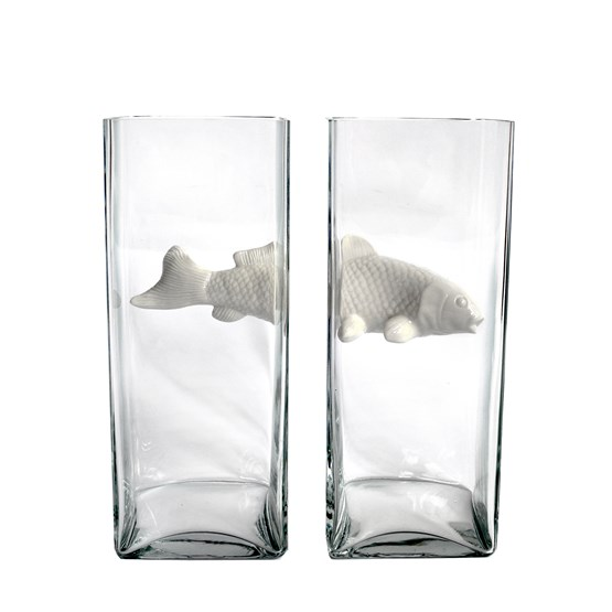 Vase double NO LIMIT - white - Design : Vanessa Mitrani