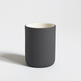 Set of 4 coffee cups | dark grey & speckled 2