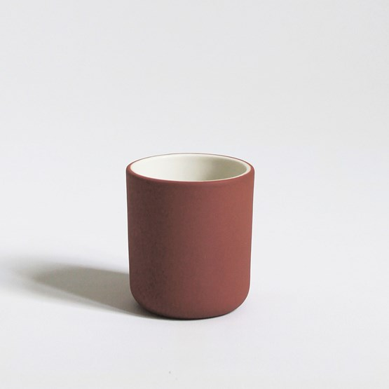 Coffee cup | terracotta - Design : Archive Studio