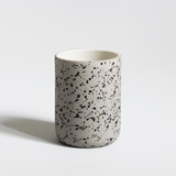 Set of 4 coffee cups | teal & speckled 2