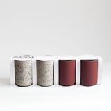 Set de 4 tasses à café | terracotta & moucheté 4