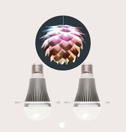 Ampoules design CMYK - set de 2