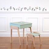 My Little Pupitre children desk 3/6 years - celadon green 4