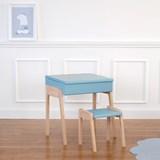 My Little Pupitre children desk + Stool 3/6 years - blue 3