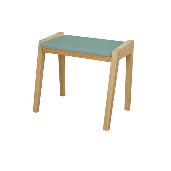 My Great Pupitre junior stool  - celadon green - Design : Jungle by Jungle
