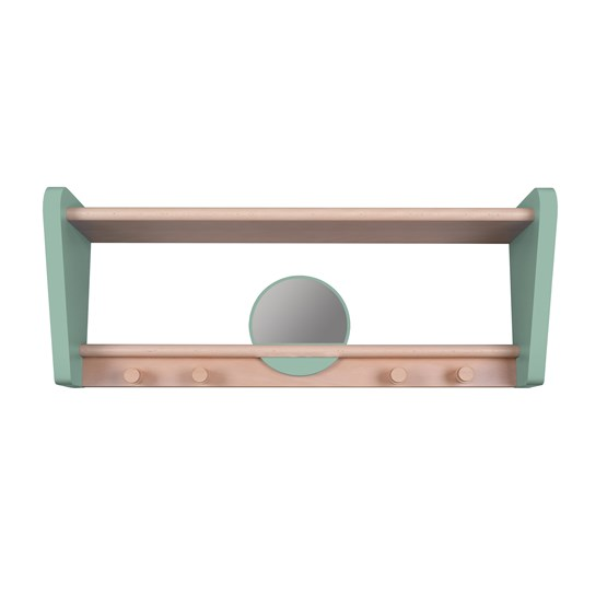 My Little Boudoir shelf - celadon green - Design : Jungle by Jungle