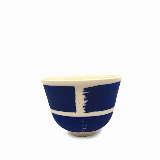 Tasse expresso MARIE-ANTOINETTE - bleu - Design : Maureen Stengel Guillot