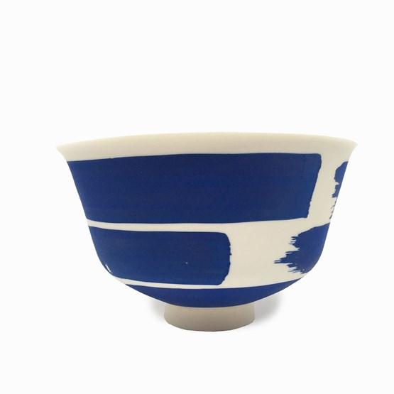 Bowl - blue  - Design : Maureen Stengel Guillot