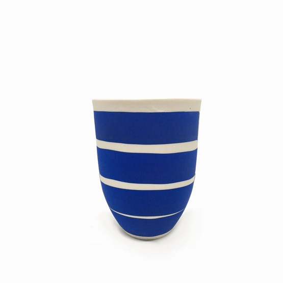 MARIE-ANTOINETTE mug - blue  - Design : Maureen Stengel Guillot