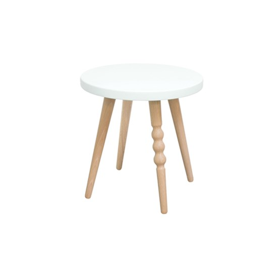My Lovely Ballerine stool - white & beech - Design : Jungle by Jungle