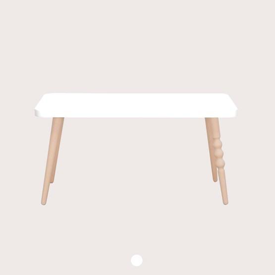 My Lovely Ballerine Bench - white & beech - Design : Jungle by Jungle