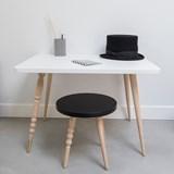 My Lovely Ballerine stool - black & beech 2