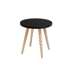 My Lovely Ballerine stool - black & beech