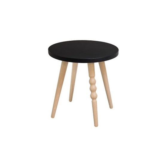 My Lovely Ballerine stool - black & beech - Design : Jungle by Jungle