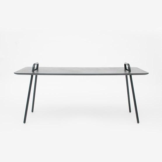 Table bureau AGRAFE - noir - Design : Mickael Dejean