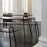 Table bureau AGRAFE - chêne 2