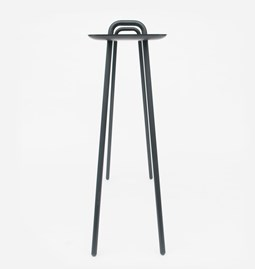 AGRAFE high bar table - black