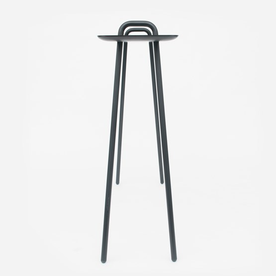 AGRAFE high bar table - black  - Design : Mickael Dejean
