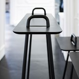 AGRAFE high bar table - black  4