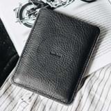 Porte passeport PORTE en cuir - noir 3