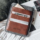 PORTE Passport Wallet  - brown 4