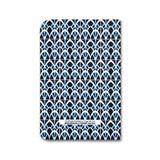 Carnet A5 relié couture - bleu 3