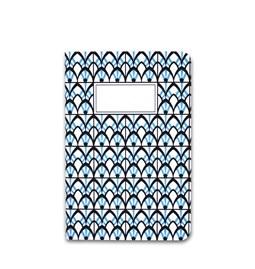 Carnet A5 relié couture - bleu