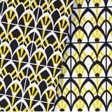Carnet A5 relié couture - jaune 5