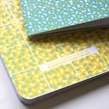 A5 notebook singer stitching - mint 3