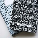A5 notebook singer stitching - black 5