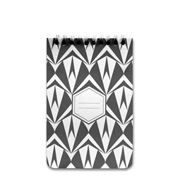 A5 spirale notebook - black