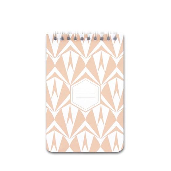 A5 spirale notebook - nude - Design : Coco Brun x Beauregard Studio