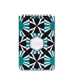 A5 spirale notebook - green