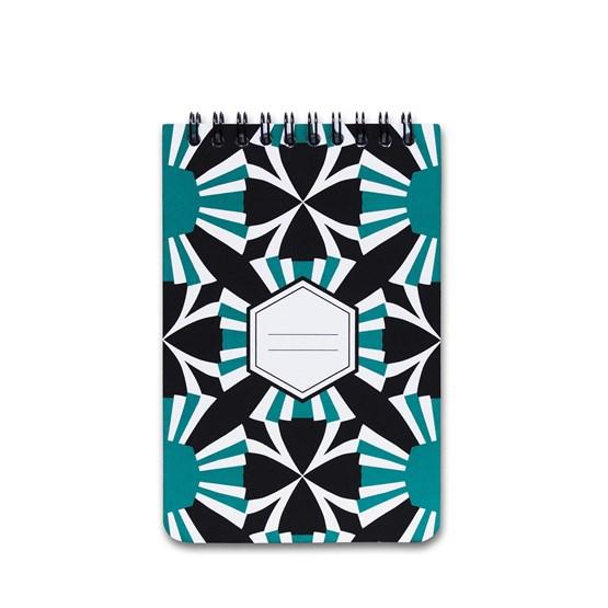 Carnet A5 spirale - vert - Design : Coco Brun x Beauregard Studio